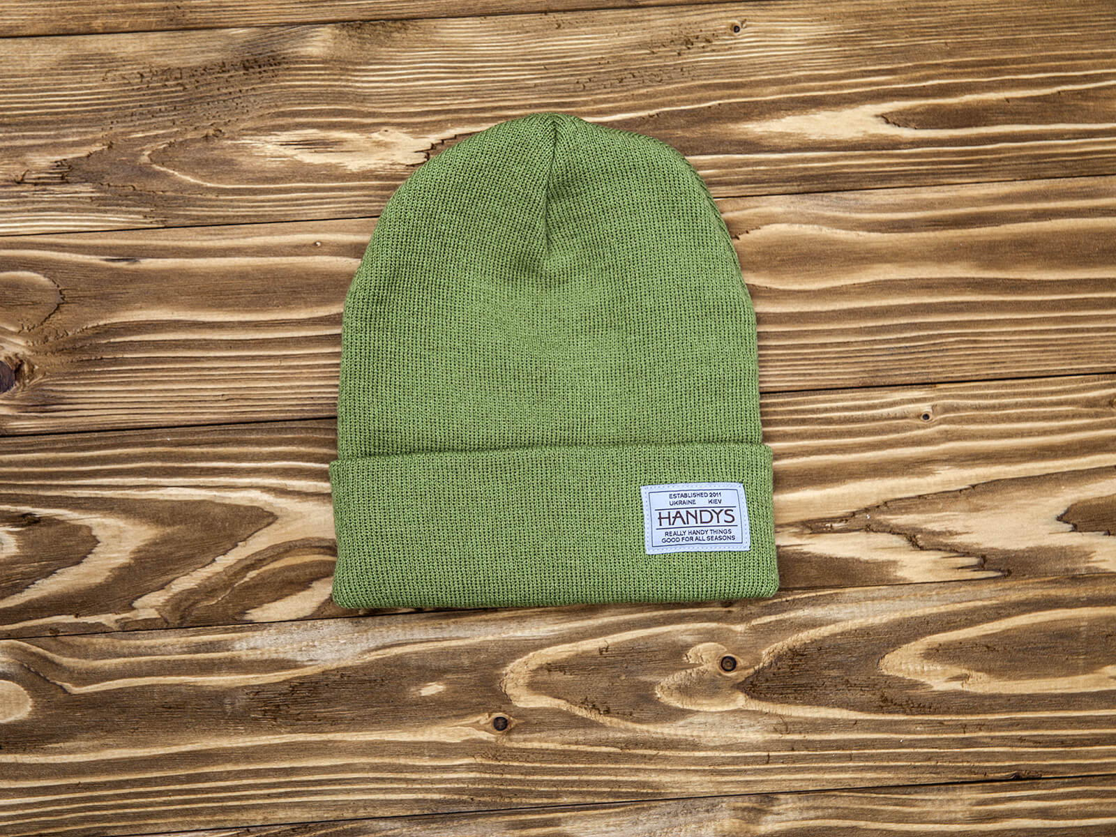 HANDYS BEANIE HAT OLIVE
